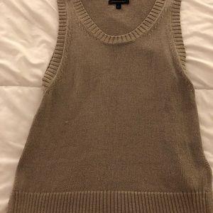 Sweater runs a bit bigger than small. Not worn